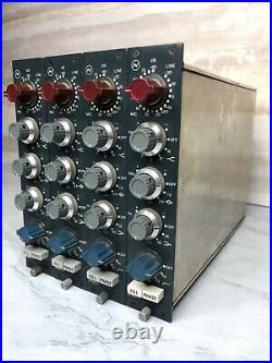 1075 Mic / Line Preamp Module with 3-Band EQ (Set of 4 Modules)