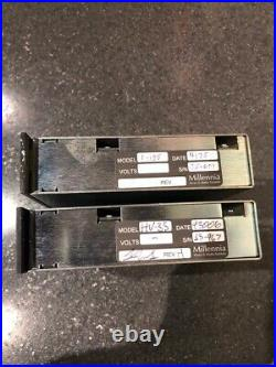 1 Pair of Millennia HV-35 500 Series Preamplifiers, Very Good Condition