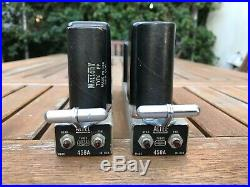 (2) Altec 458A Vintage Tube Mic Pre-Amps From The 1960s