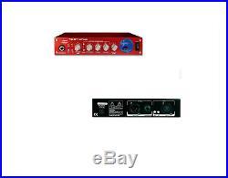 2 Sm Pro Tc01 12ax7 Tube Preamp Microphone MIC Pre Compressor+vu+48v Smpro Tc-01