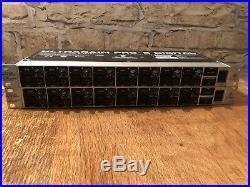 2 X BEHRINGER PRO-8 DIGITAL A/D & D/A Converter & 8x mic pre Model ADA8000