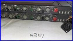 2x AMEK TAC SCORPION S1000 Mixer Channel strip-set Mic Pre EQ Mischpult preamp