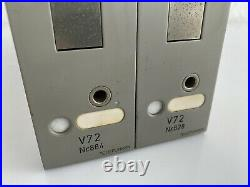 2x Telefunken V72 Microphone Preamplifier NICHT GETESTET / NOT TESTED
