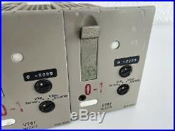 2x Telefunken V76 F Microphone Preamplifier NICHT GETESTET / NOT TESTED
