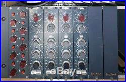 4 BAE 1084 Pair Mic Pre/EQ with Heritage Audio 8 Channel Rack