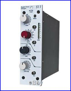 511 Mic Pre with Sweepable HPF, Variable Silk 500 Series Mic Pre Amplifier