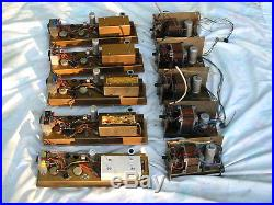 5 1950s VALVE AMPLIFIERS #2 HAND-WIRED MIC PRES BRENELL GOLD Mk. 5 MAGIC EYE PSUs