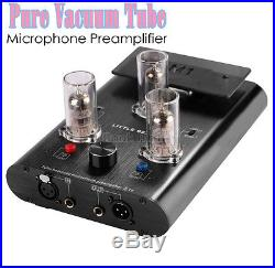 6N2/12AX7 Vacuum Tube Balanced Microphone Preamplifier HiFi XLR KTV MIC Pre-Amp