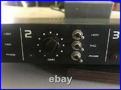 9k quad 4 channel microphone preamp