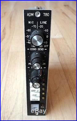 ADM 780 Mic Pre Microphone Preamp Module READY TO BE RACKED