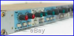 AMEK Designed by Rupert NEVE System 9098 EQ Mic Preamp with Equalizer Rack