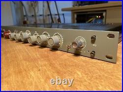 AML ez1073 Microphone Preamp 19 rack version with EQ Mic/Line input