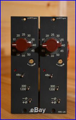 AML ez1073-pre, 500 series version of a classic Class A mic-pre