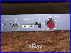 AMS NEVE 1073 DPA dual channel microphone preamp