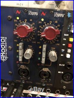 AMS Neve 1073LB 500 Series Mic Preamp (2)