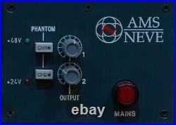 AMS Neve 1081 Classic Horizontal Mic Preamp / EQ Module Pair Racked