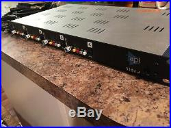 API 3124+ 4 Channel Mic/Instrument Preamp Excellent Condition, includes cables