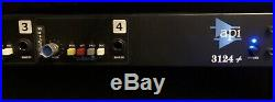 API 3124+ 4-Channel Mic/Line Preamp