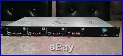 API 3124+ 4-Channel Mic/Line Preamp VERY GOOD CONDITION like 4 x 512c