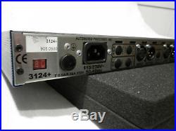 API 3124+ 4 Channel Mic Preamp Class A