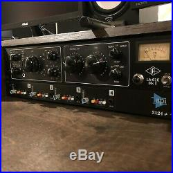 API 3124+ 4 Channel Mic Preamp (Excellent Condition)