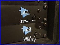 API 3124 4-channel Mic and Instrument Preamp, 2 Units in Auction