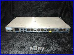 API 3124m+ 3124 4 Channel Microphone Preamp Mic Tested Working Rare Stereo
