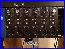 API 500 VPR 10 space rack with (6) Vintage 512b Preamps