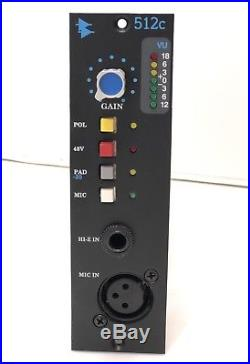 API 512C 500-Series Microphone Preamp