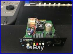 API 512c Microphone Preamp 500 Series