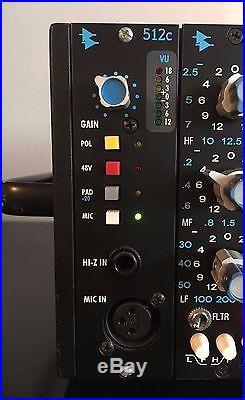 API 512c microphone preamp mic pre