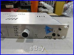 API A2D Dual Analog Mic Preamp Rackmount