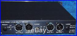 API Audio 3124 4-Channel Microphone and Instrument Preamp Unit 4 XLR I/O & DI