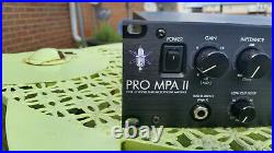 ART ProMPA II 2-Channel Tube Mic Preamp
