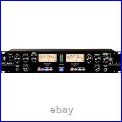 ART Pro Audio MPA II 2-Channel Tube Microphone PreAmp Mic Pre Amp PROMPAII Open