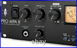 ART Pro MPA II 2-channel Tube Microphone Preamp Pre-Owned