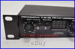 ART TUBE CHANNEL Professional Tube Mic preamp Compressor & Equalizer Model 259