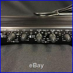 ART Tube Channel preamp EQ equalizer compressor Valve Parametric rack studio