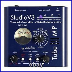 ART Tube MP Studio V3 Valve Mic Pre Microphone Preamp TubeMP Variable Voicing