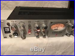 AVALON VT-737SP Vacuum Tube MIC PREAMP EQ -Very very clean works free shipping