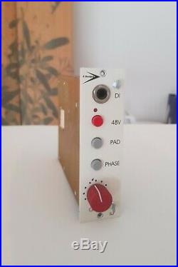 A Designs P-1 Mic Preamp For API 500 Series