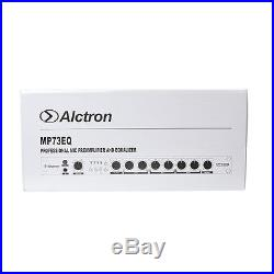 Alctron MP73EQ 1073 Style Microphone Preamp and Equalizer Channel Strip