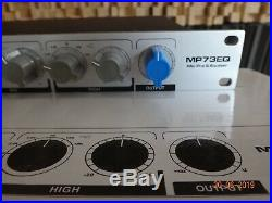 Alctron MP73EQ Microphone Preamp & EQ, like new (1073 style) No. 2 of 2