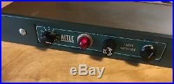 Altec 1566A Vintage Tube Pre Amplifier Restored Mic Preamp 15095A & 4722