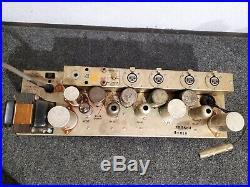Altec 1567A Mixer Amplifier with XLR Strip Tube Mic Preamp EQ DI VU meter USA