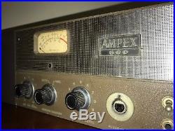 Ampex 600 Modded Tube Mic Pre