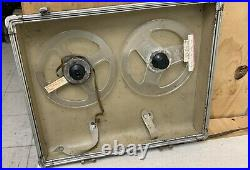 Ampex 602 Suitcase Complete with Preamp, Tape Recorder Sold as is. 600 601