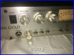 Art Pro MPA Gold Tube Two Channel Mic Preamp
