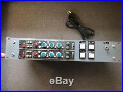 Auditronics 110 mic pre/EQ racked pair