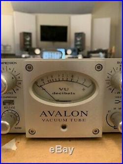 Avalon 737SP Tube Mic Pre EQ/Compressor VT 737 SP / BRAND NEW caps